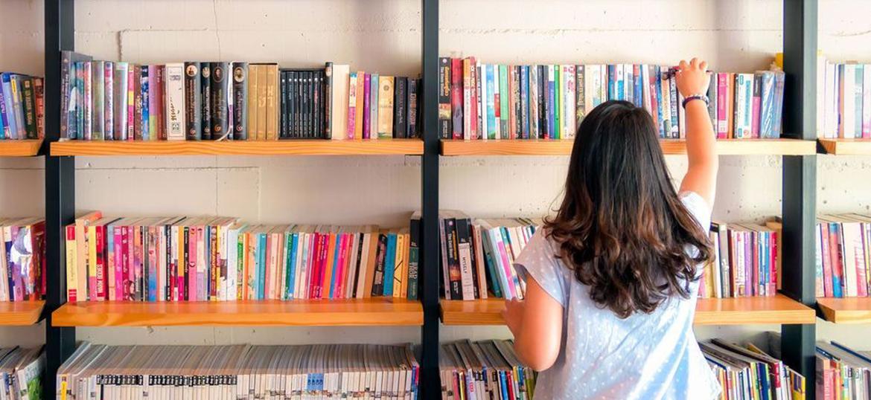 Espace livres au Phare de l'Ill à Illkirch-Graffenstaden