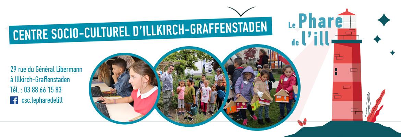 Le CSC Phare de l'Ill à Illkirch-Graffenstaden