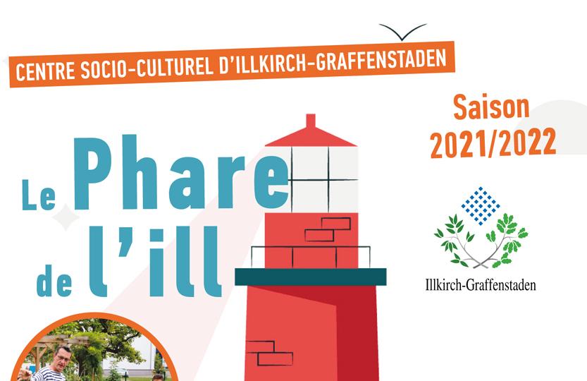Plaquette du Phare de l'Ill à Illkirch Saison 2021-2022 à Illkirch-Graffenstaden